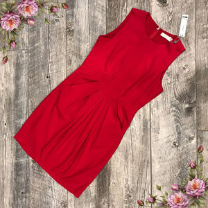 Costa Blanca new with tag red midi dress